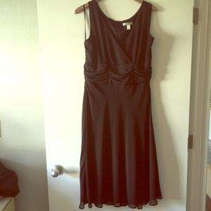 Black Ruche Dress